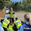 Frontline Skills Enhancement Course (FSEC) training.This photo was taken prior to COVID-19 restrictions