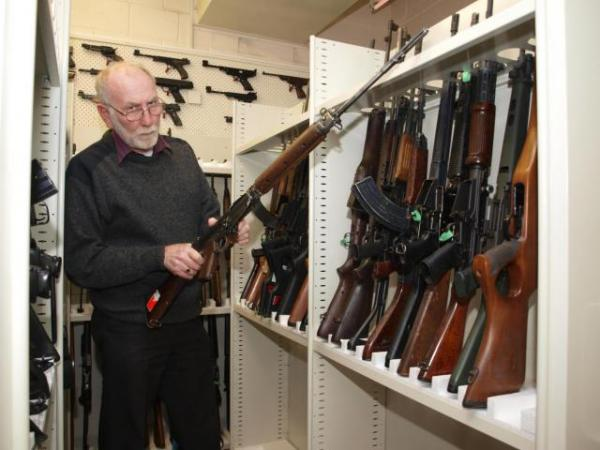 Police estimate more than 950 firearms are stolen a year, and in more than half of all instances, more than one firearm is taken.