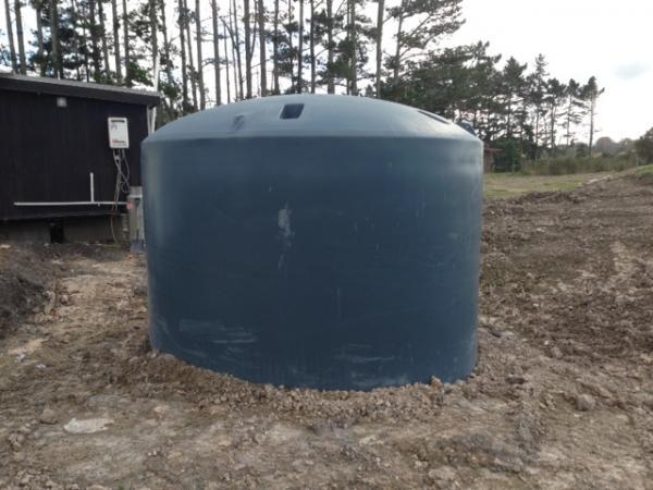 A stolen water tank