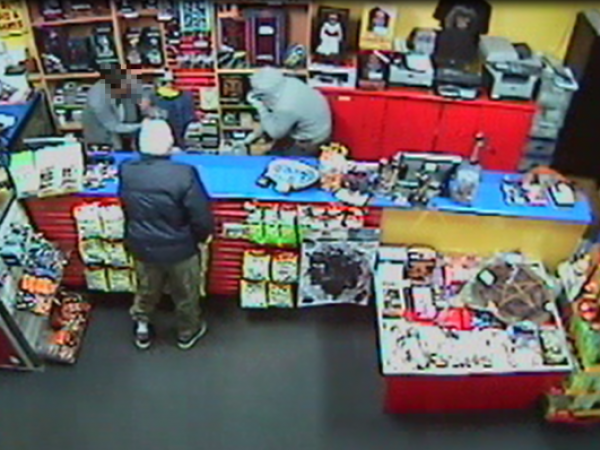 Do you know who the hooded figures in this CCTV image are?