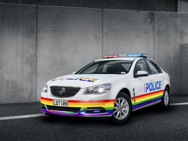 Rainbow Pride Car