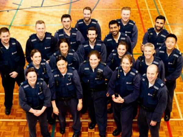 Wing 317 recruits