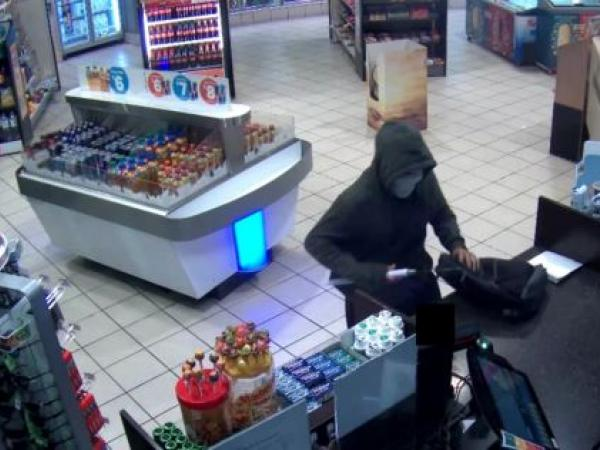 Service station robbery