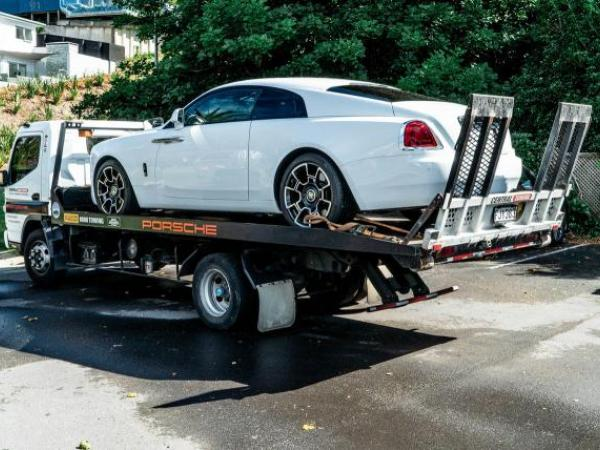 Another vehicle seized as part of today's operation