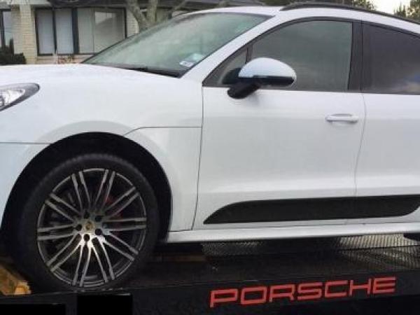 A Porsche seized