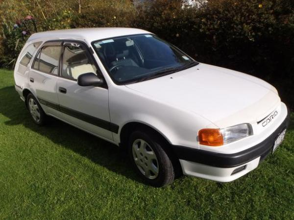White Toyota Carib