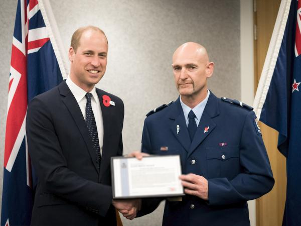 Presentation to Senior Constable Scott Carmody