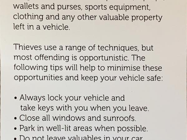 Keep your home and vehicle secure