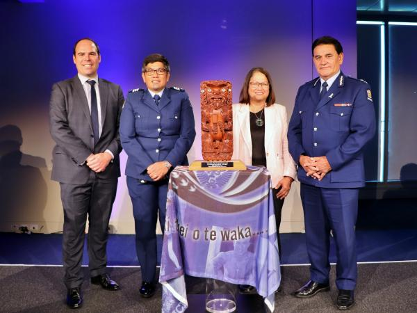 Representatives at the Evidence Based Problem-Oriented Policing (EBPOP) Awards