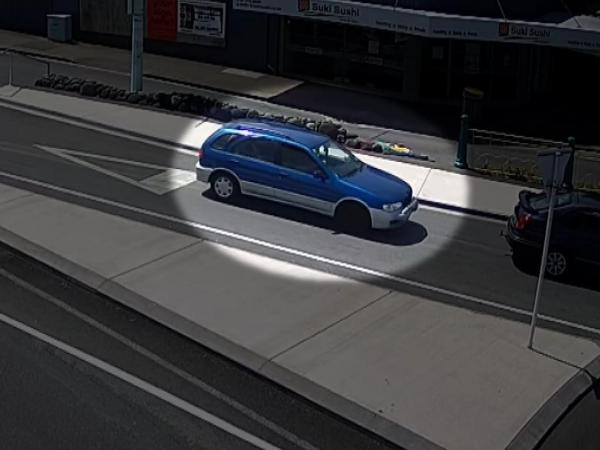 Julian Varley car CCTV image