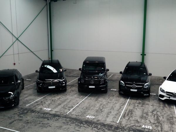 Five vehicles restrained by Police are worth around $650,000 in total.