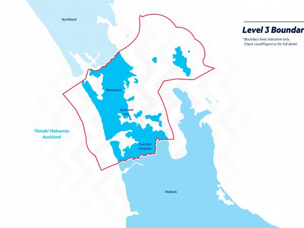 Level 3 - boundary lines