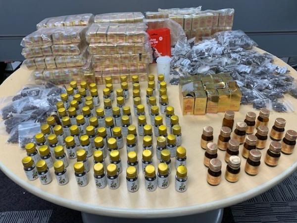 Police seized quantities of Kamini during search warrants