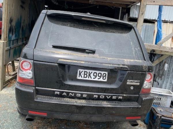 Police are seeking information on a black Range Rover, registration KBK990.