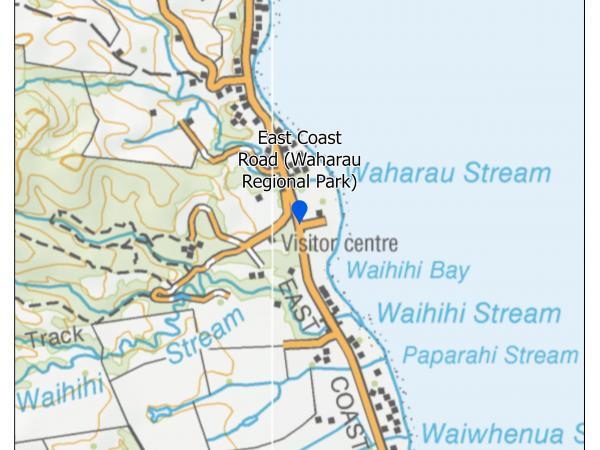 East Coast Road (Waharau Regional Park)