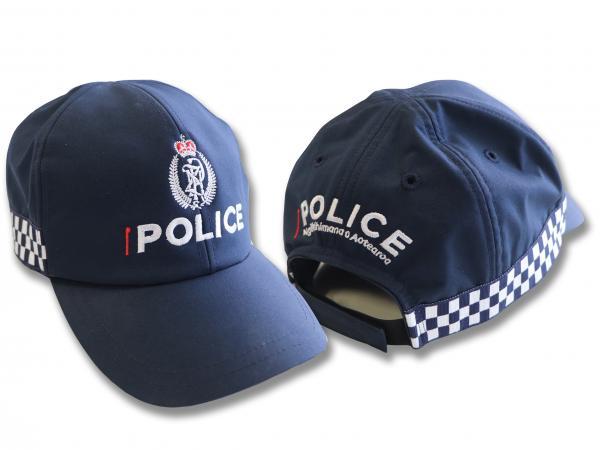 New Zealand Police caps