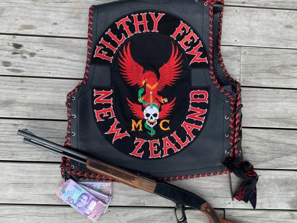 Two patched members of the Rotorua chapter of the Filthy Few Motorcycle Club were among those arrested
