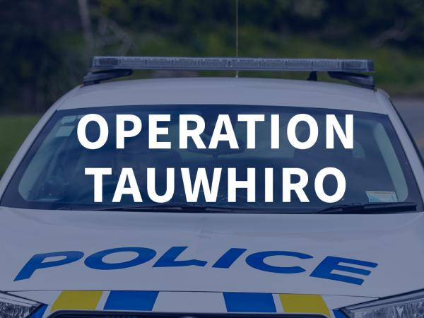 Operation Tauwhiro graphic