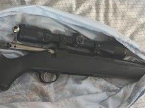 Seized firearm