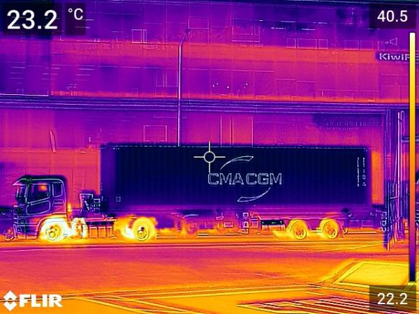 Handheld thermal imaging devices will help assess a vehicle's braking fitness.