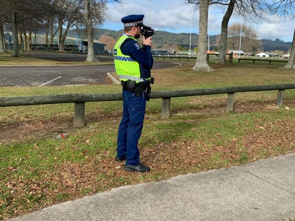 Constable Bryan Owen, Road Policing Rotorua.