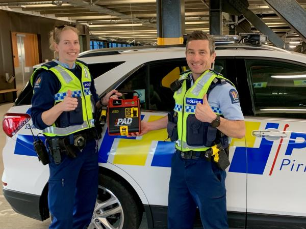 Canterbury Police AED