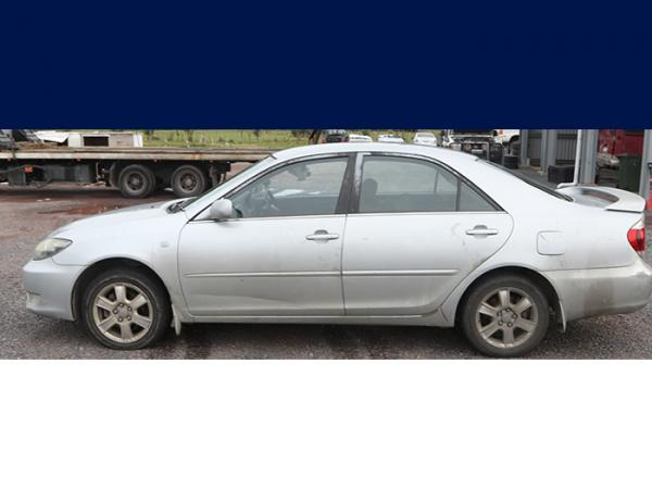 Police are appealing for sightings of a silver Toyota Camry