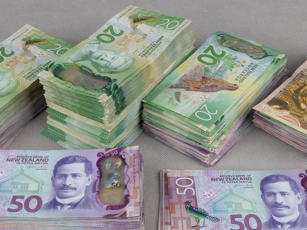 Money seized in 'Phase Two' of Operation Skipjack.