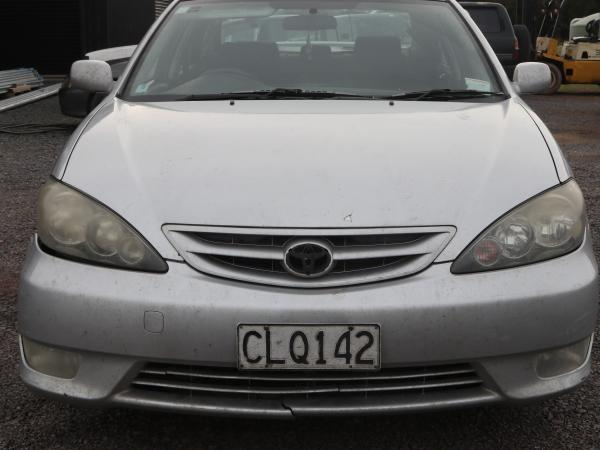 The silver Toyota was one of two vehicles located by Police