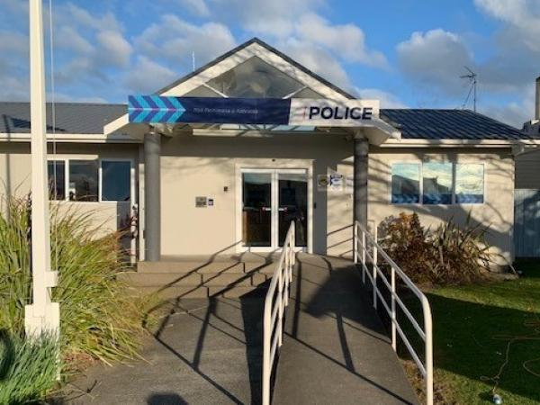 Newly refurbished Feilding Police station