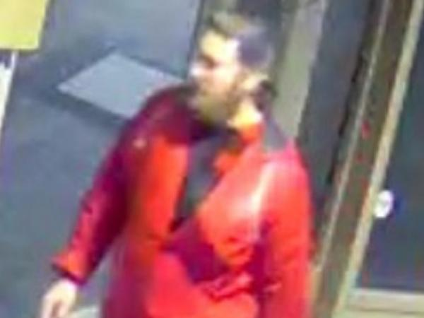 Palmerston North Police are seeking to identify the man pictured, in relation to damage at the Regent Theatre on Broadway Avenue