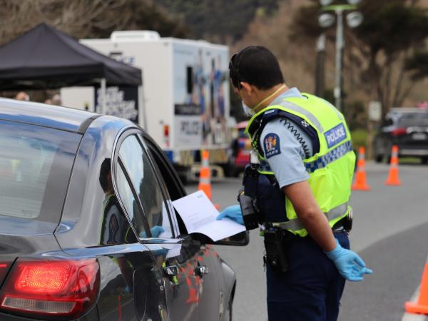Border and community checkpoints show Police and iwi working in true partnership.