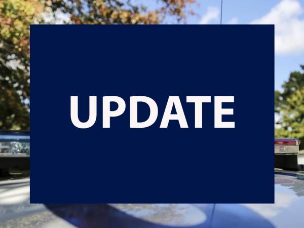 Media release - Investigation update - arrest