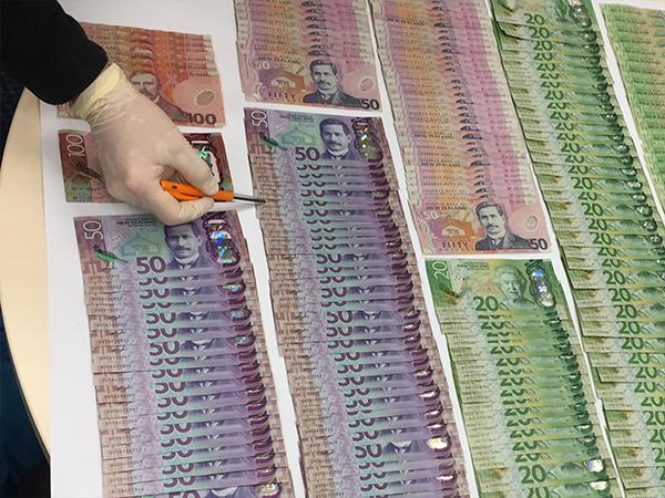 Siezed cash - 1