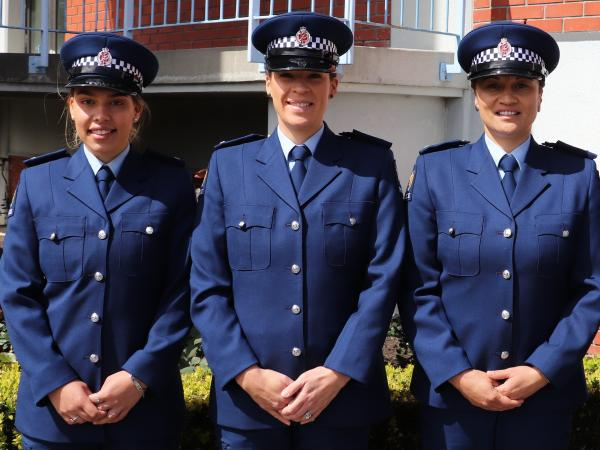 The three women joining Eastern District from Wing 331 in October included Mel Humphries protogées Constables Rose Campbell (lef
