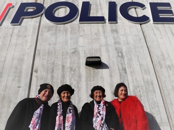 Janey Edwards, Te Rerehua Nichols, Roena McCarthy and Hinemoa Metekingi, from Ngāti Toa Rangatira Iwi, supported the proceedings