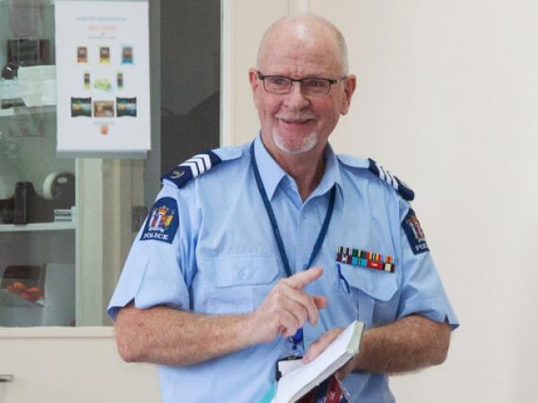 Sergeant Murray Stapp. Photo credit: Sergeant Nigel Fookes, Waikato Forensic Imaging