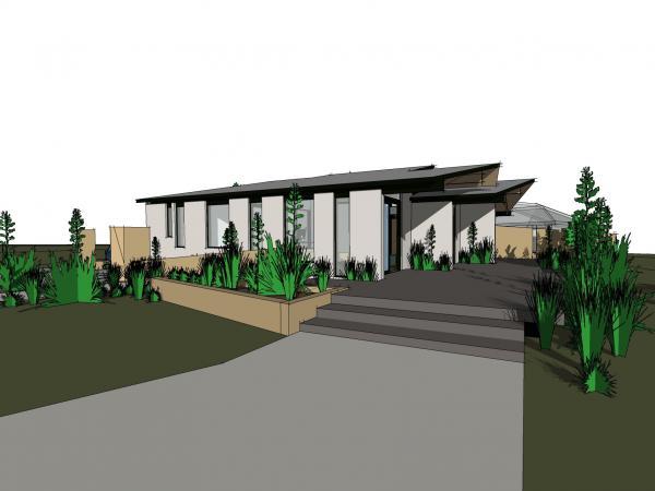 A design of Tāneatu Police Base