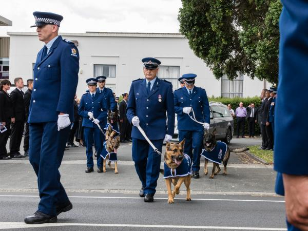Detective Inspector Gary Lendrum's funeral
