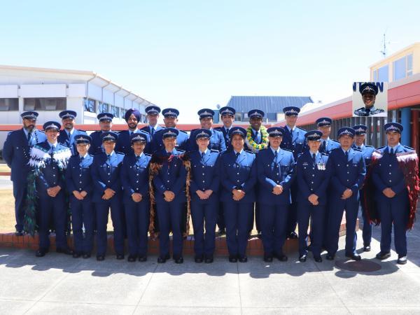 Maori Pacific Ethnic Services Wing 343 recruits