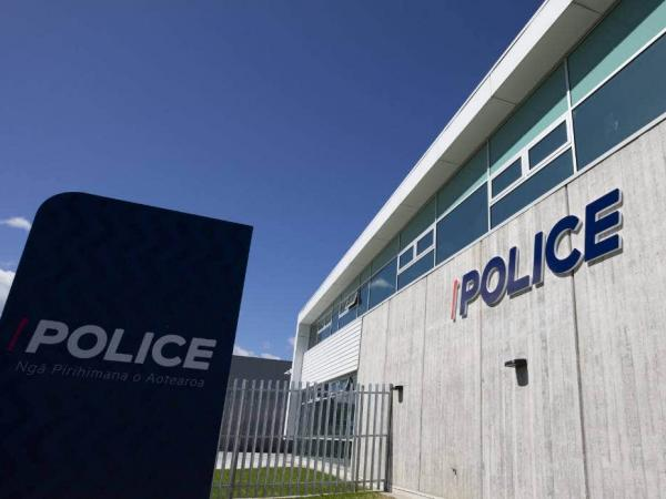 Open for business - the new Porirua Police Hub.