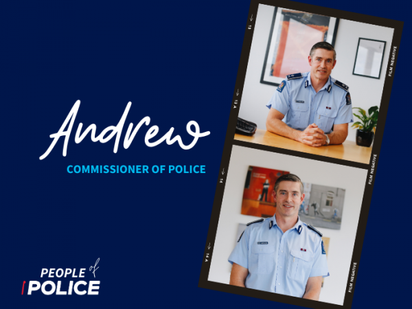 Commissioner of Police, Andrew Coster