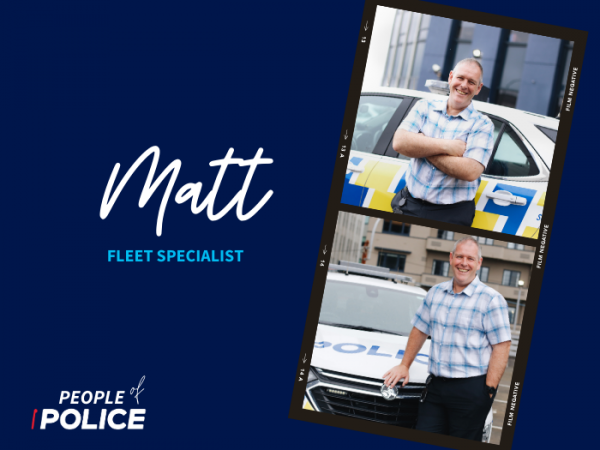People of Police: Matt