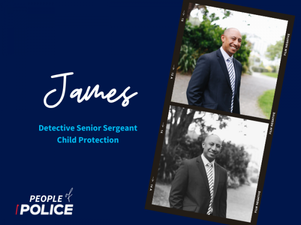 People of Police graphic - James
