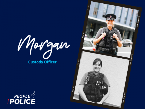 People of Police graphic - Morgan