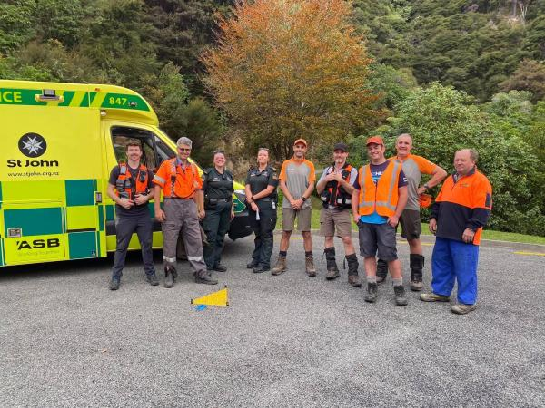 Another successful operation is concluded by SAR teams in Marlborough.
