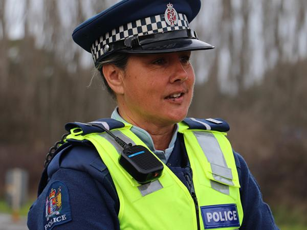 Senior Constable Kim Munro