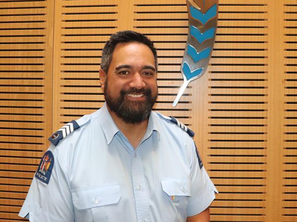 Sergeant Philip Rowden – Iwi Liaison Coordinator (Pouwhakataki) for Hawke's Bay