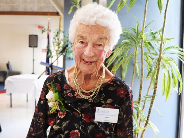 Marie Storey, who has celebrated her 100th birthday.