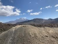 The Tongariro Northern Circuit where a Belgian man was rescued by Police